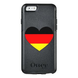 Coração da bandeira de Alemanha