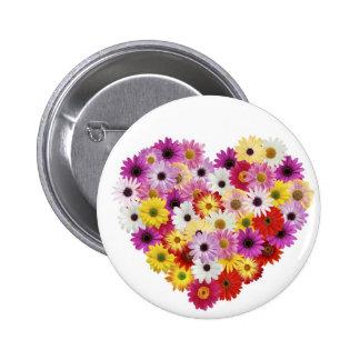 Coração da flor boton