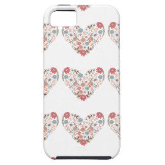 Coração da flor capa tough para iPhone 5