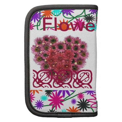 Coração da flor organizador