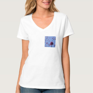 Coração da flor tshirts