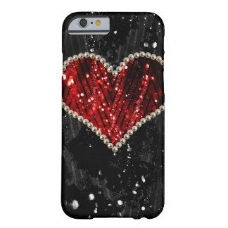 Coração da pérola capa barely there para iPhone 6