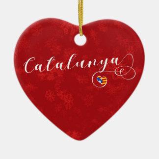 Coração de Catalunya, ornamento da árvore de