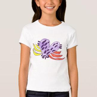 Coração de flutuação camisetas