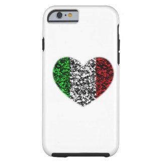Coração de Italia Capa Para iPhone 6 Tough