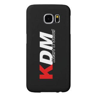 Coração de KDM e capa de telefone de Seoul
