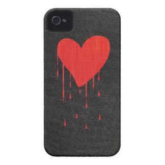 Coração de sangramento capas para iPhone 4 Case-Mate