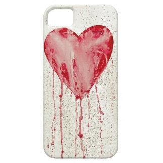 coração de sangramento capas iPhone 5