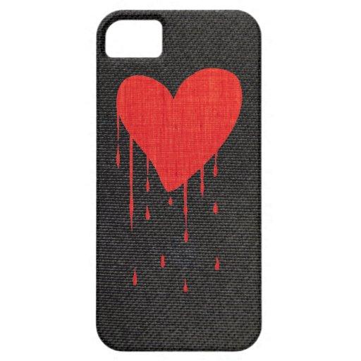 Coração de sangramento capa de iPhone 5 Case-Mate