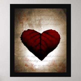 Coração de sangramento poster