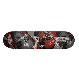 Coração de sangramento shape de skate 19,7cm