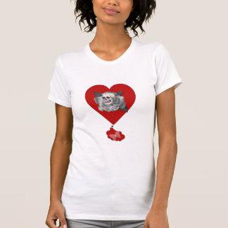 Coração de sangramento t-shirt