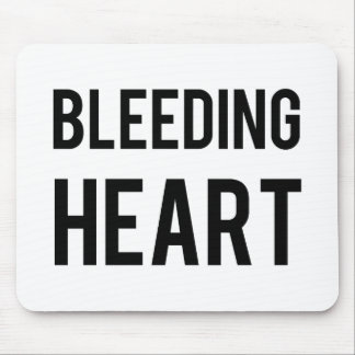 Coração de sangramento mousepads