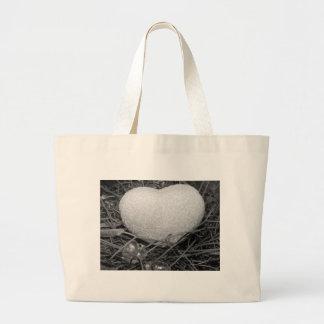 Coração do amor bolsa para compras