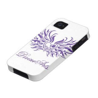 Coração do anjo capinhas para iPhone 4/4S