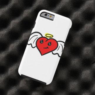 Coração do anjo (colorido) capa tough para iPhone 6