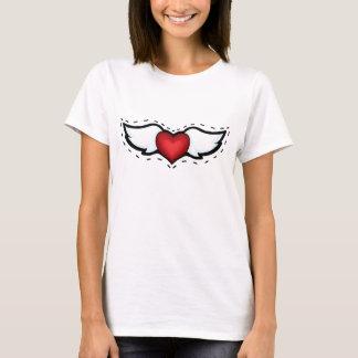 Coração do anjo t-shirt