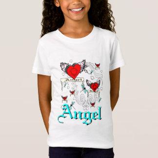 Coração do anjo tshirt
