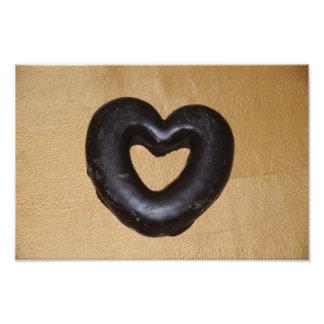 Coração do chocolate artes de fotos