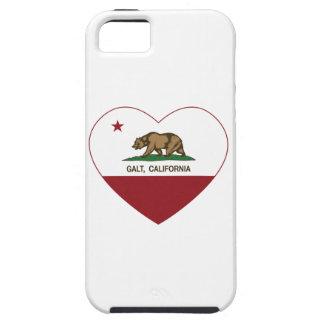 coração do galt da bandeira de Califórnia Capas iPhone 5