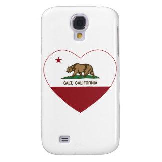 coração do galt da bandeira de Califórnia