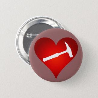 Coração do martelo da rocha bóton redondo 5.08cm