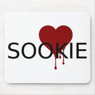 Coração do sangue de Sookie Mouse Pad