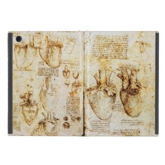 Coração e seu pergaminho dos vasos sanguíneos capas iPad mini