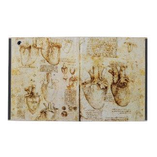 Coração e seu pergaminho dos vasos sanguíneos capas iPad