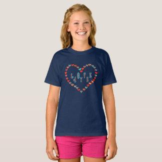 Coração escocês do amor da independência Aye Camiseta