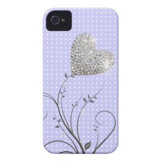Coração feminino capinha iPhone 4