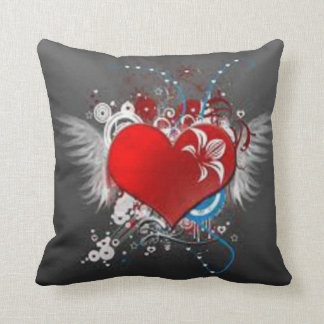 coração-flor travesseiro de decoração