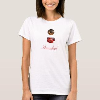 Coração Hannibal do olho Camiseta