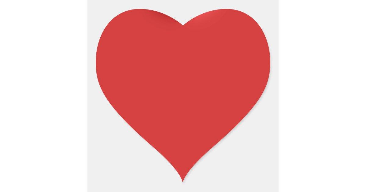 Qual O Artesanato Das Ostras ~ Coraç u00e3o inchado rom u00e2ntico 3D do amor vermelho do Adesivo Coraç u00e3o Zazzle