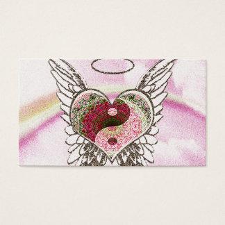 Coração memorável do cartão   Yin Yang