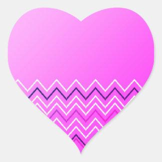 Coração original - etiqueta dada forma para miúdos