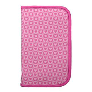 Coração & planejador cor-de-rosa do dia de Smartph Agenda