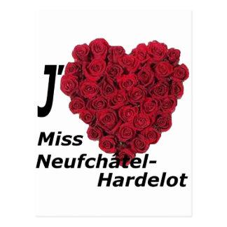 coração recortar Meninas Neufchatel Hardelot 1.PNG Cartão Postal