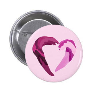 coração roxo melthing botons