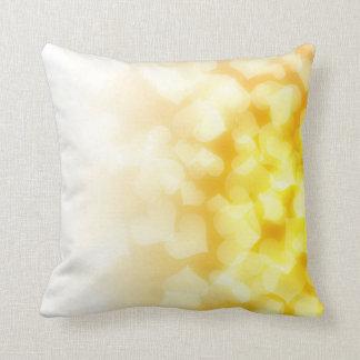 corações amarelos e brancos bonitos travesseiros de decoração