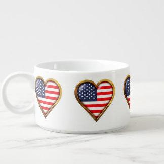 Corações americanos chili bowl