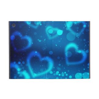 corações azuis do amor capas iPad mini