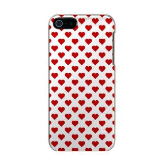 Corações bonito capa incipio feather® shine para iPhone 5
