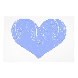 Corações bonito papelaria