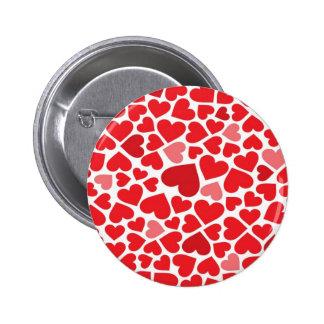 Corações bonitos boton