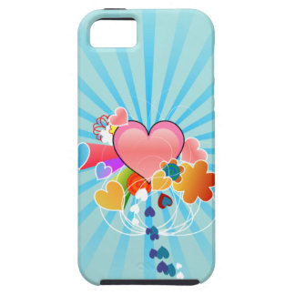 Corações bonitos capas de iPhone 5 Case-Mate