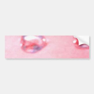 Corações cor-de-rosa adesivo para carro