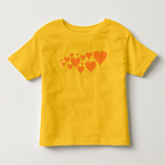 Corações cor-de-rosa bonitos t-shirt