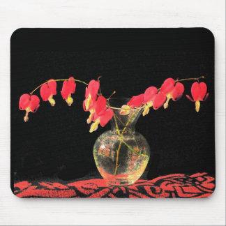 Corações de sangramento mousepad