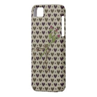 Corações delicados & iPhone 5 da case mate dos Capa Para iPhone 5